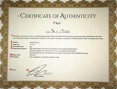Make A Certificate Of Authenticity What Is A Certificate Of Authenticity How To Create Art