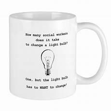 Light Bulb Mug Cafepress Social Work Light Bulb Joke Mugs 11 Oz Ceramic