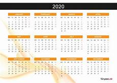 Calendar Template 2020 2020 Printable Calendars Monthly With Holidays Yearly