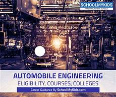 Automobile Designing Courses Eligibility Automobile Engineering Complete Guide To A Career In