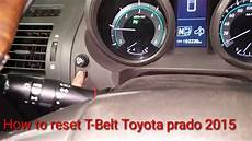 How To Reset Timing Belt Light On Toyota Hiace 2016 How To Reset T Belt Toyota Land Cruiser Prado 2015 How To