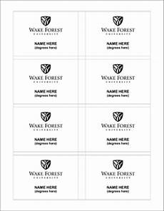 Name Tag Templates Word University Name Tag Template Identity Standards