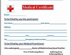 Medical Certificate Templates Comcare The Importance Of The Medical Certificate
