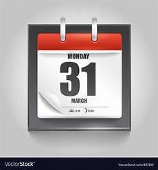 Calendar Page Image Calendar Page Royalty Free Vector Image Vectorstock