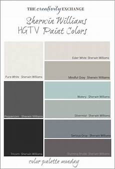 Best Look Paint Color Chart Hgtv Paint Colors From Sherwin Williams