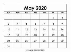 microsoft calendar templates 2020 blank may 2020 calendar printable free png calendar template
