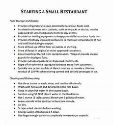 Restaurant Business Plan Examples 5 Free Restaurant Business Plan Templates Excel Pdf Formats