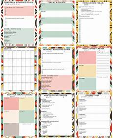 Free Printable Planner Pages 12 Free Printable Blog Planners Simply Sweet Home