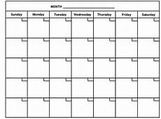 Month Printable Calendar 4 Best Images Of 12 Month Calendar Printable Monthly