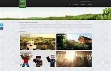 Minecraft Server Website Template Server Portal Website Template Minecraft Devbest Com