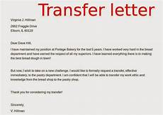 Transfer Letter Format From One Location To Another May 2015 Samples Business Letters