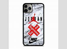 AIR JORDAN MARBLE SUPREME iPhone 11 Pro Max Case