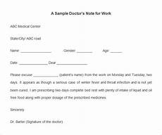 Sample Return To Work Note From Doctor 22 Doctors Note Templates Free Sample Example Format