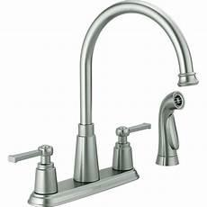 Menards Kitchen Faucets Delta 174 Emmett Two Handle Kitchen Faucet At Menards 174