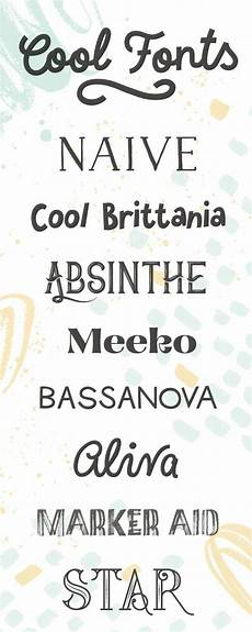 Cool Fonts To Draw On A Poster Browse 880 Cool Fonts To Use On All Your Trendy Posters
