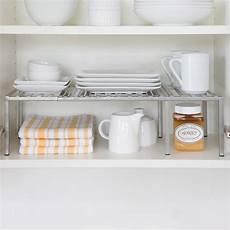 rebrilliant expandable kitchen cabinet helper shelf
