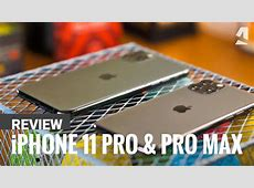 iPhone 11 Pro and Pro Max review   YouTube