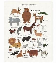Rifle Paper Co Animal Alphabet Chart Diy Projects Amp Crafts What I Right Now Alphabet
