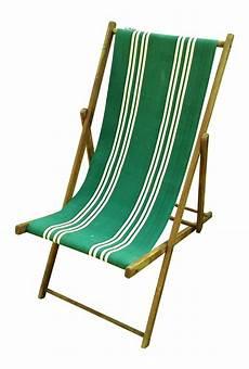 vintage wood canvas folding deck chair chairish