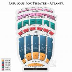 Fox Theater Detailed Seating Chart Fox Theatre Atlanta Seating Chart Date Night Pinterest