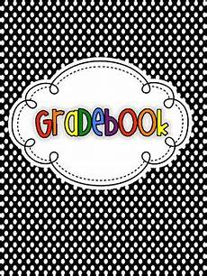 Gradebook Cover Free Lesson Plan Gradebook And Teacher Binder Covers