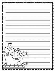 Christmas Themed Writing Paper Christmas Writing Paper By Time Saving Tools Teachers