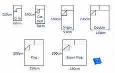 Standard Bed Sizes Chart Bed Sizes And Space Around The Bed