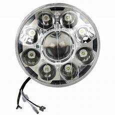 Hjg Fog Lights Dlp Led Round Headlight For Royal Enfield Premium