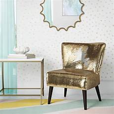silver accent chair novogratz mazzy sequin accent chair gold silver