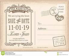 Wedding Save The Date Postcards Vintage Postcard Save The Date Background For Wedding