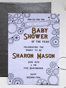 Customizable Invitation Free Printable Baby Shower Invitations Diy
