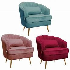 Homcom Velvet Fabric Dining Chair Single Sofa Armchair Home by Retro Vintage Occasional Armchair Single Sofa Chair