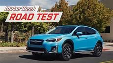 2019 subaru phev 2019 subaru crosstrek hybrid phev motorweek road test