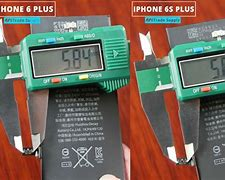 Image result for iPhone 6 vs 6s Battery