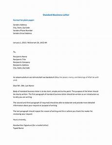 professional business letter format business letter format download pdf