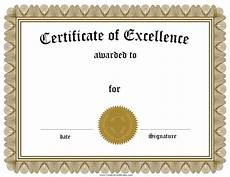 Certificate Of Template Free Customizable Certificate Of Achievement