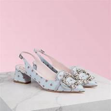 Roger Vivier Size Chart Heels Shoes Broche Vivier Sling Back Pumps
