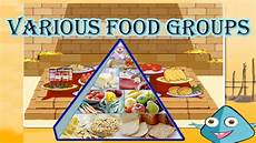 Food Groups Chart Food Pyramid The 5 Different Food Groups Learn The