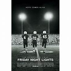 Friday Night Lights Original Movie Soundtrack Amazon Com Friday Night Lights Movie Poster 2 Sided
