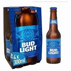 Peach A Bud Light Bud Light Lager Bottles 4 X 300ml Bestway Wholesale