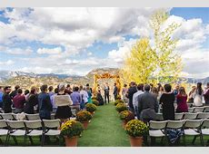 A Fall Mountain Wedding with Black & Gold Accents ? Luxe