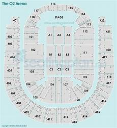 Floor Plan O2 Arena The O2 Arena Detailed Seating Plan