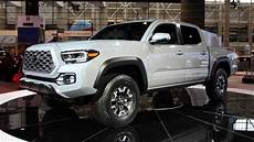 2020 Toyota Tacoma Updates by 2020 Toyota Tacoma Shows Subtle Facelift In Chicago