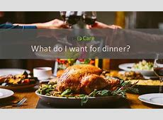What do I want for dinner considering taste and health