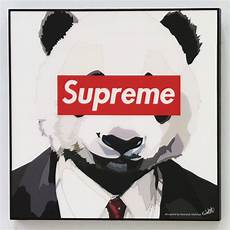 Supreme Pictures by Supreme Panda Canvas Quotes Wall Decals Photo Painting