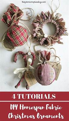 fabric crafts primitive easy cheap diy fabric ornaments for