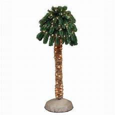 Home Depot Trees With Lights General Foam 4 Ft Pre Lit Palm Artificial Christmas Tree