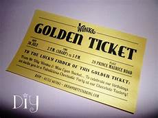 Golden Ticket Invitation Golden Ticket Invitations Printable Willy Wonka Invitations