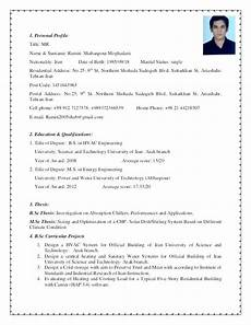 Example Of Profile For Resume 9 10 How To Write A Good Resume Profile Aikenexplorer Com