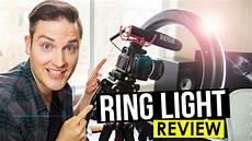 Ring Light Vs Ring Light For Youtube Videos Review Video Lighting Tips